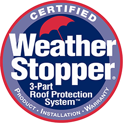 GAF Weather Stopper Roof Protection System Certified