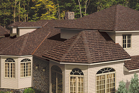 Residential roofing example
